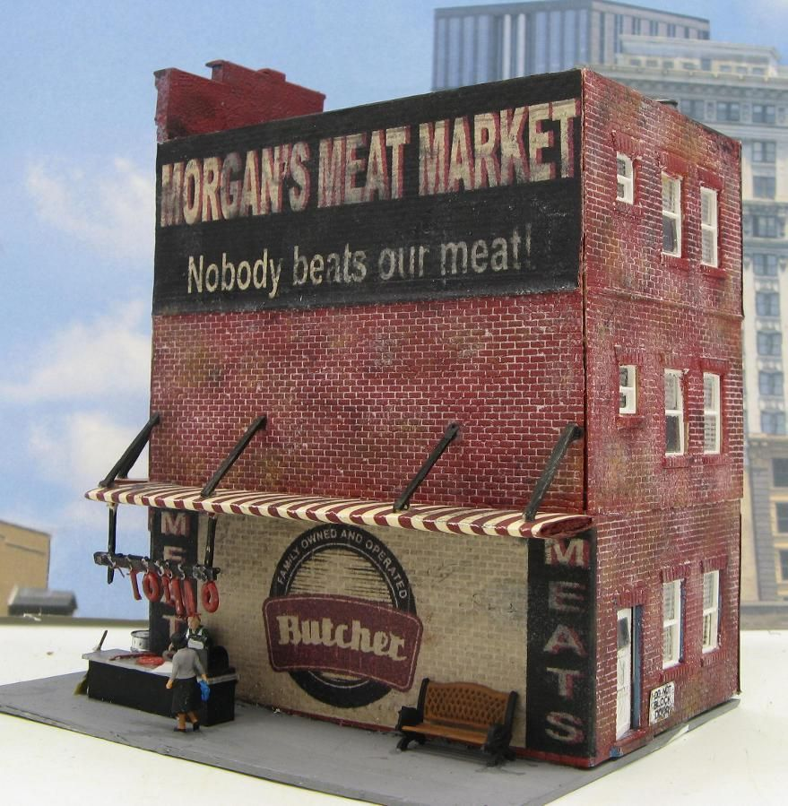 model railroad buildings | Scale Models | Scale models, Ho