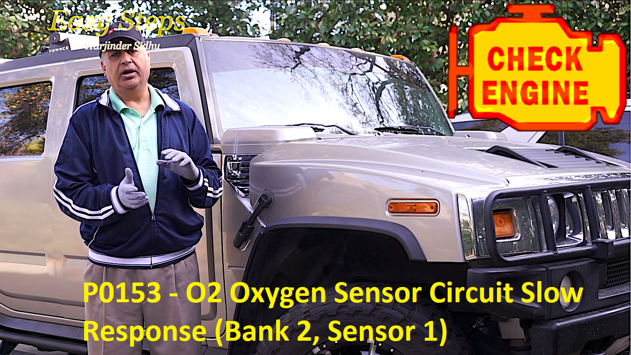 Part 1 How To Replace O2 Oxygen Sensor On Hummer H2 Gmc Chevy Circuit Cadillac Error Code P0153 Slow Response Bank 2