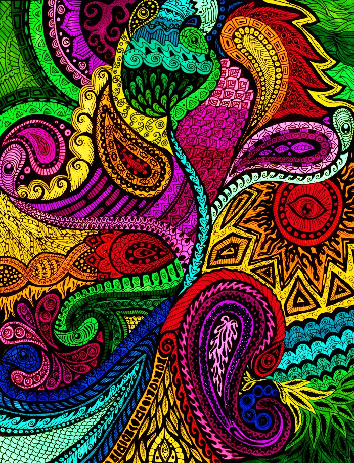 foto de by liquid mushroom Dibujos psicodélicos