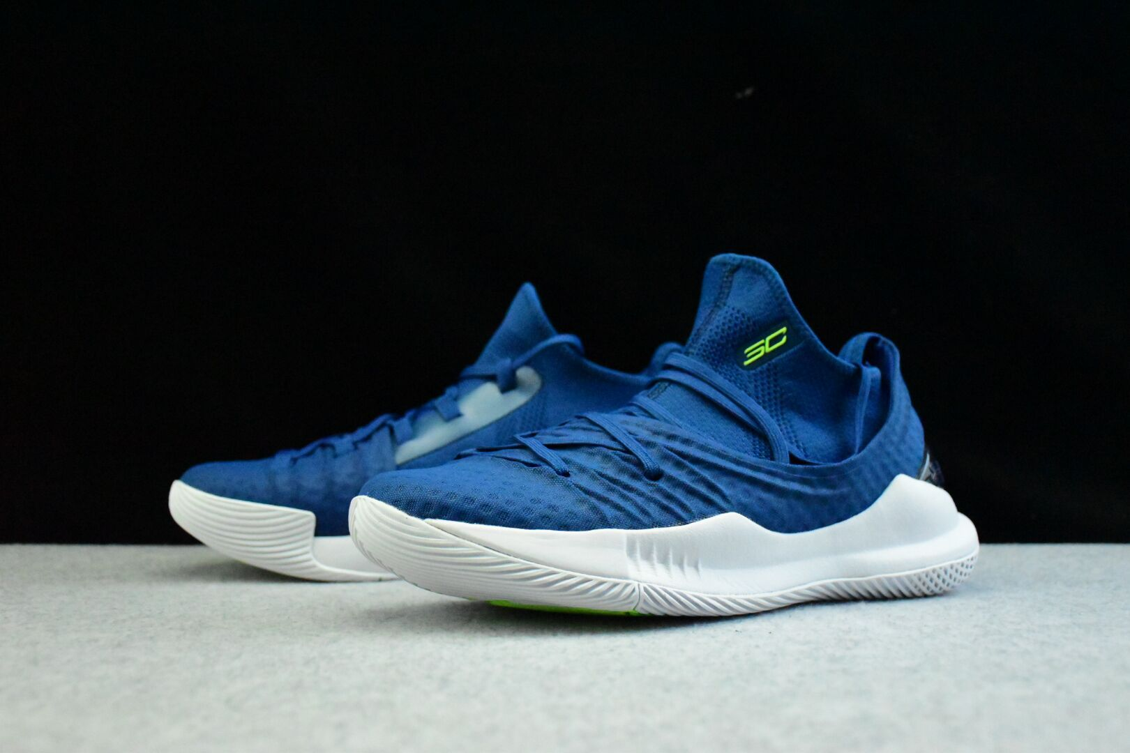 buy popular 88a7c b8b18 UA Curry 5 Royal Blue/White Men's Basketball Shoes | Under ...
