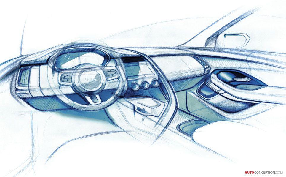 2018 Jaguar E Pace Suv Automotive Transport Design Concept Art