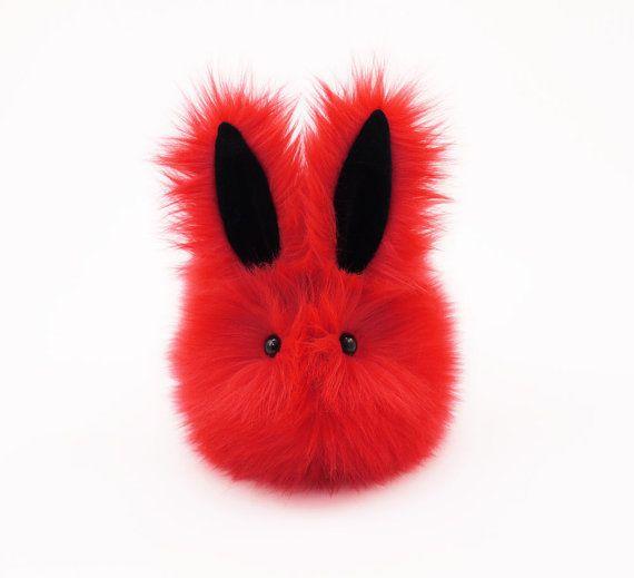 Easter gift kids stuffed animal plush toy bunny kawaii plushie easter gift kids stuffed animal plush toy bunny kawaii plushie zippy the red bunny rabbit snuggly negle Choice Image