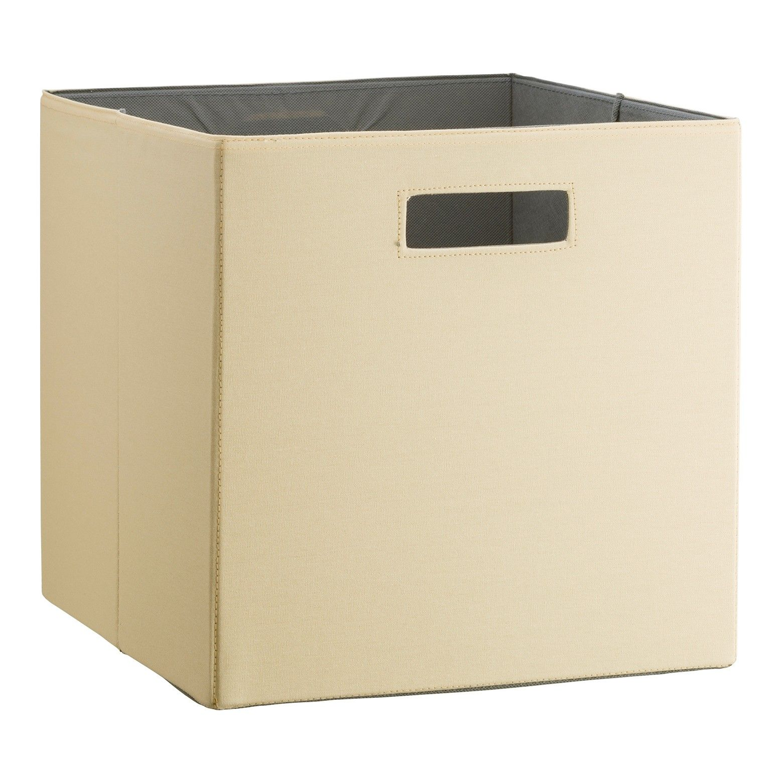 Charmant Bring Home Endless Storage Possibilities With This 13 Inch Fabric Cube  Storage Bin From Threshold.