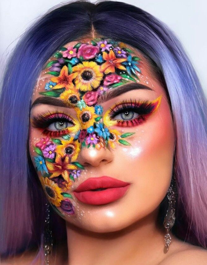 Pin by Bbunkley on Creative makeup looks Extreme makeup