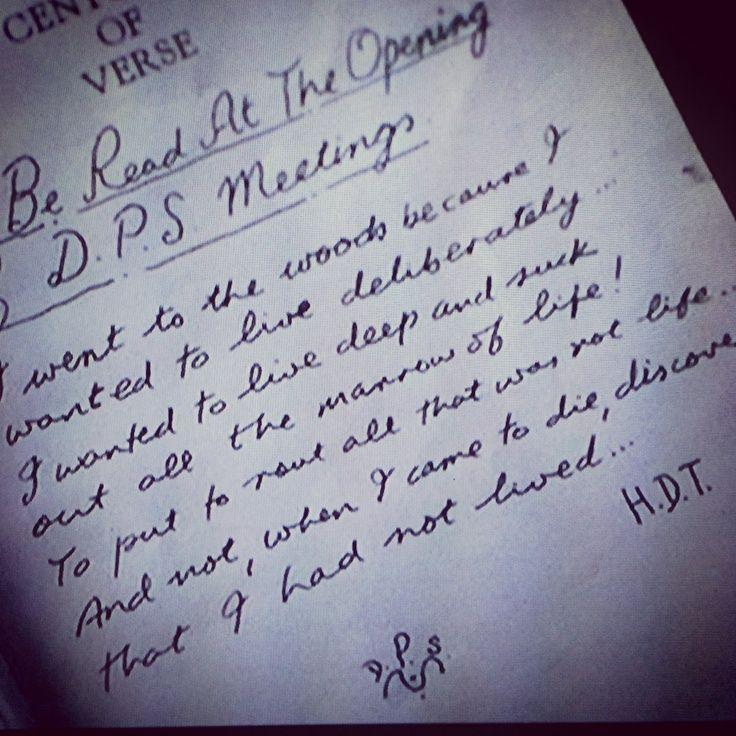 dead poets society - quote - movie - film