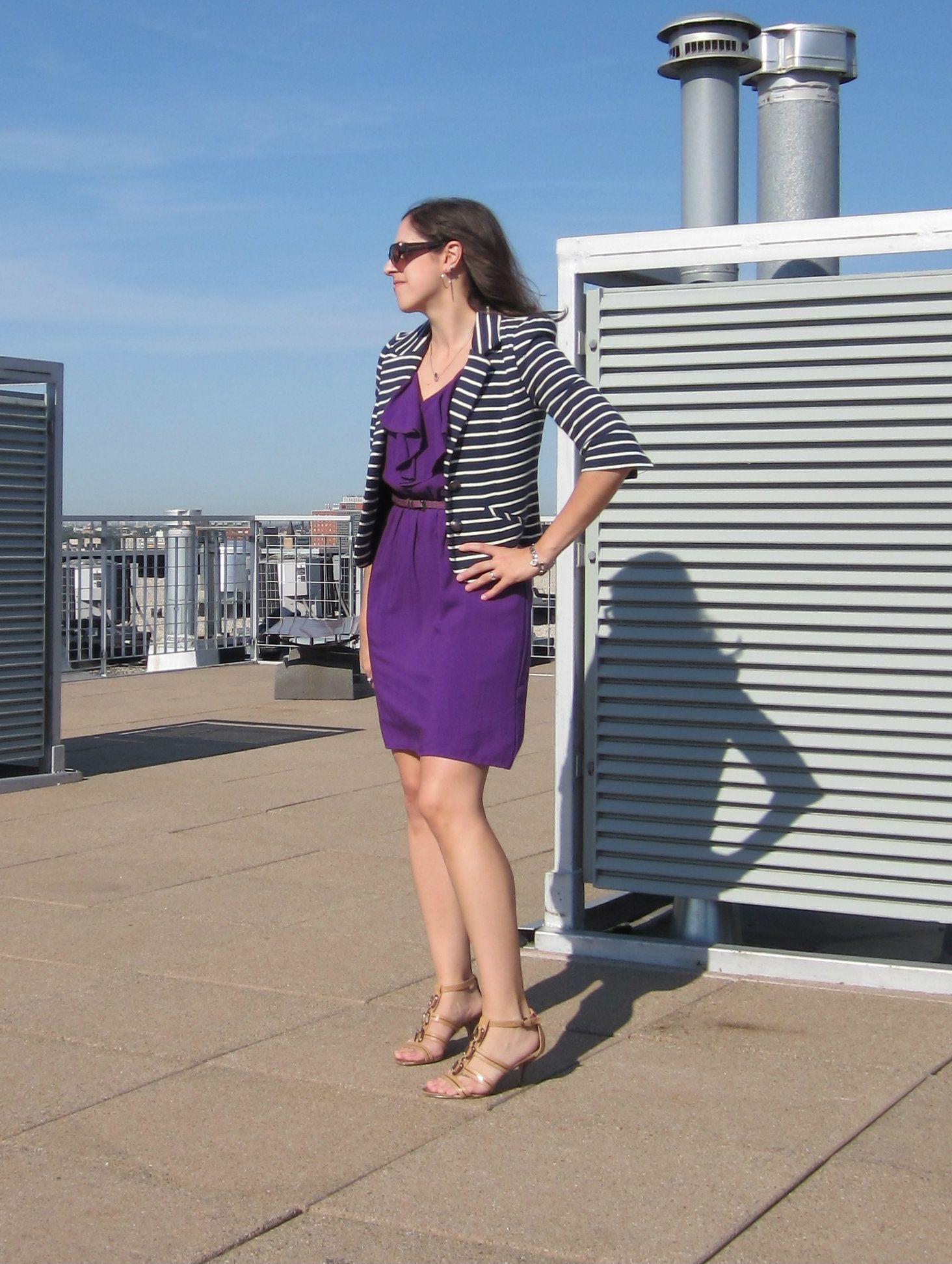 listras | Striped blazer, Striped jacket, How to wear