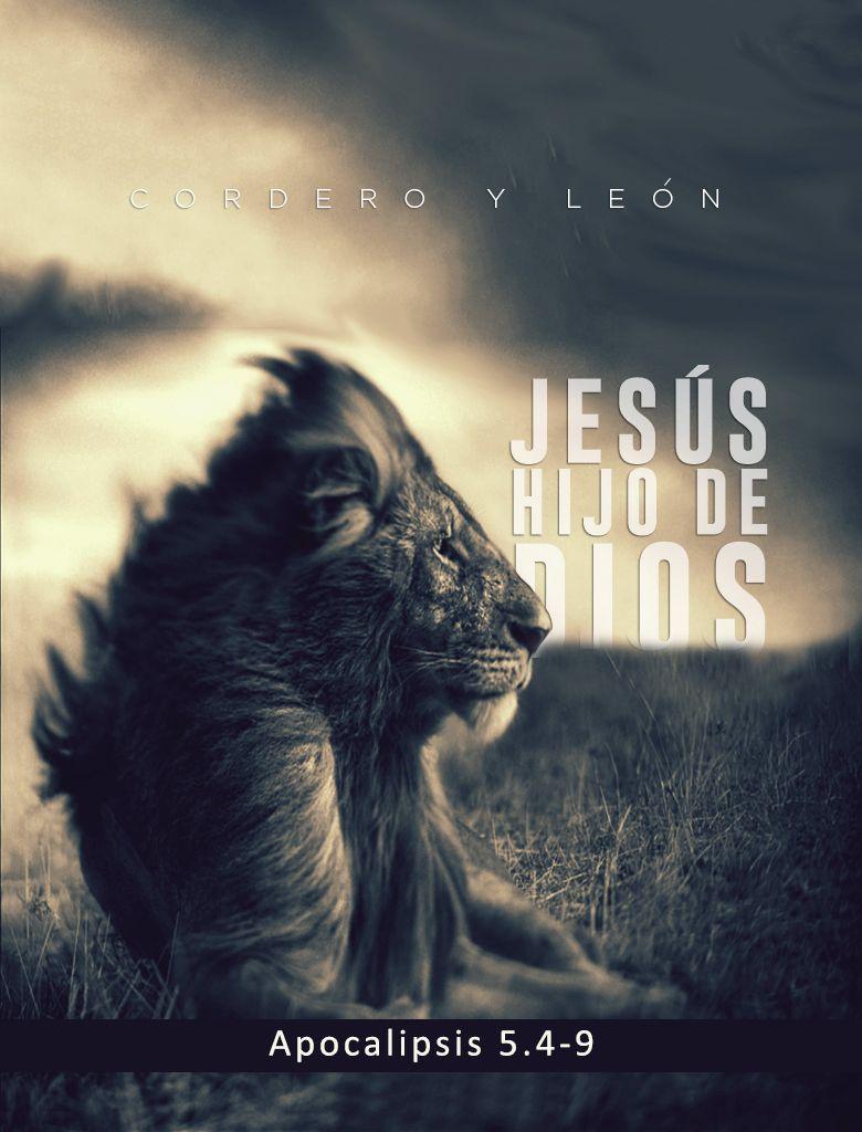 Cordero porque Jesús murió sacrificado. León porque Jesús resucitó y ...