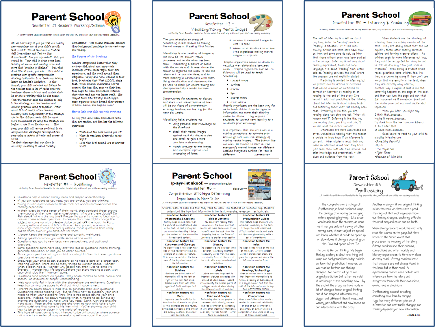 Parent Letters To Explain Reading Strategies ReaderFriendly And