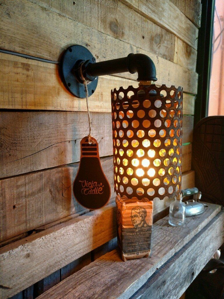 Lampara Aplique Pared Industrial Vintage Deco Apliques De Pared Industriales Lamparas Viejas Industrial Vintage