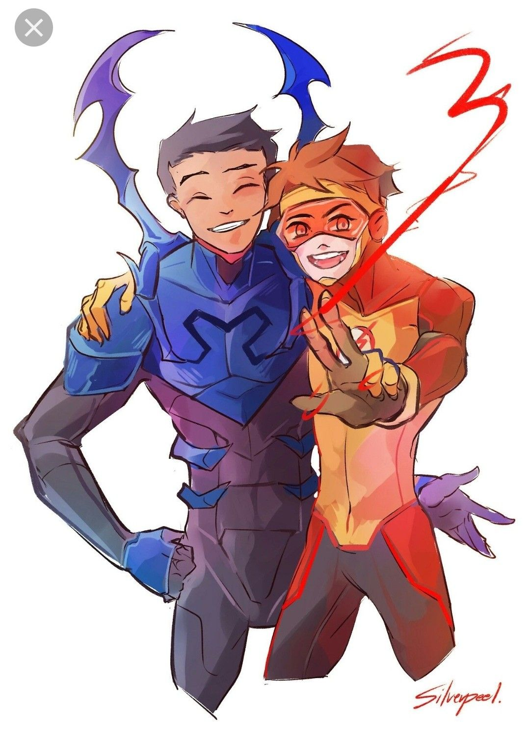Pin By Me Kin Chung On Dc Young Justice Blue Beetle Dc Comics Art