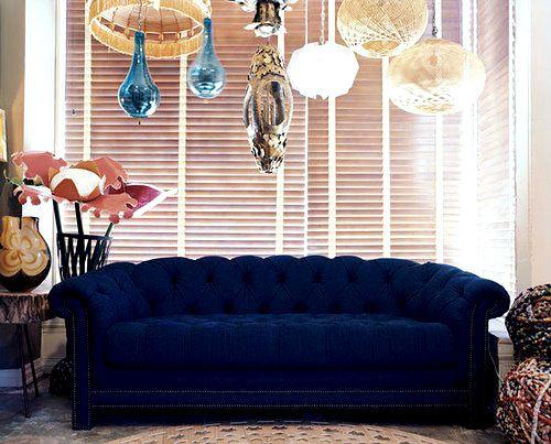 Royal Blue Velvet Sofa Thesofa - Royal Blue Velvet Sofa €� TheSofa
