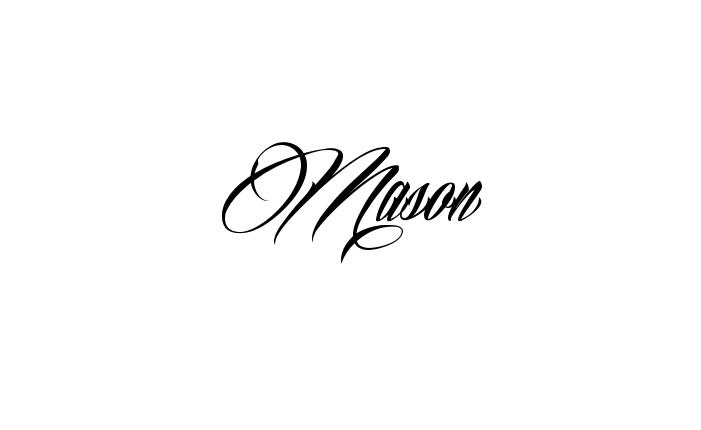 Make It Yourself Online Tattoo Name Creator Name Tattoos Tattoos Mason Name