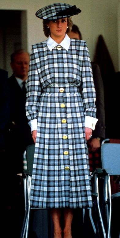 Diana, Princess of Wales - the annual Braemar Highland Games , le 03 September 1989