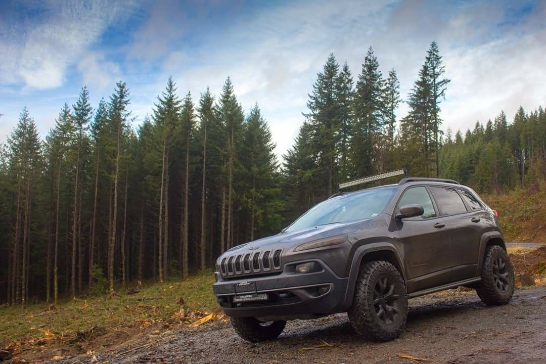 Jeep Cherokee Trailhawk 4x4 Kl Jeep Cherokee Trailhawk Jeep