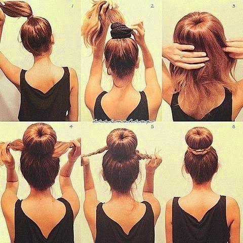 Coafuri Simple De Facut Acasa Căutare Google M Hair Long Hair