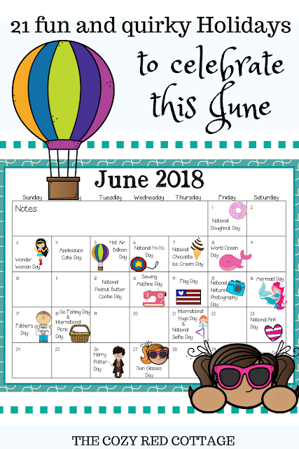 21 Fun Holidays To Celebrate With Your Kids In June Holiday Fun