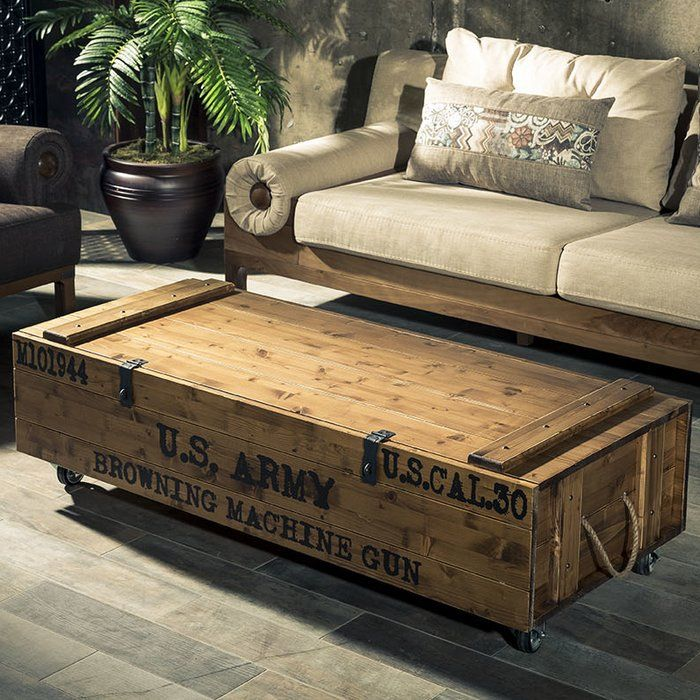 Hasse Coffee Table With Storage Coffee Table Crate Coffee Table Coffee Table With Storage