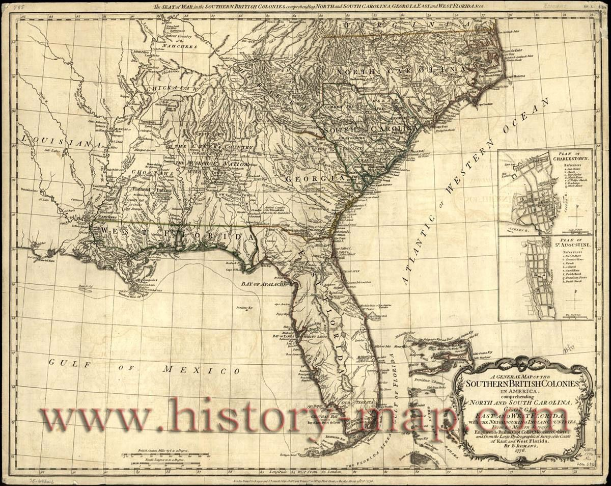 20x28 1700s New World Spanish Colonies Old Map