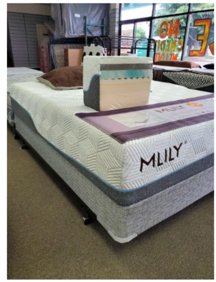 Mlily Serene Elite Mattress Coolest Fabric In 2020 Bed Mattress Memory Foam Mattress Cool Fabric