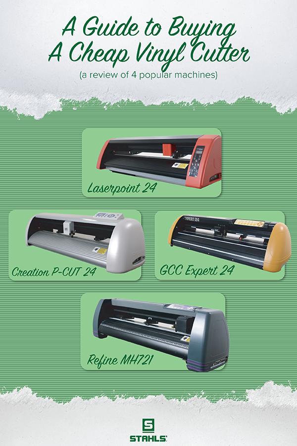 Cheap Vinyl Cutter Comparison Gcc Laserpoint Pcut Refine In 2020 Vinyl Cutter Cheap Vinyl Vinyl