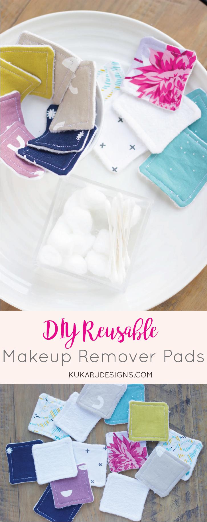 Diy Makeup Remover Pads: Reusable Face Wipes Diy Makeup Remover Pads: Reusable Face Wipes Makeup Diy Crafts diy makeup remover 5 minute crafts