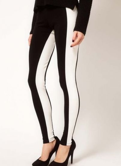Collection Black And White Leggings Pictures - Reikian