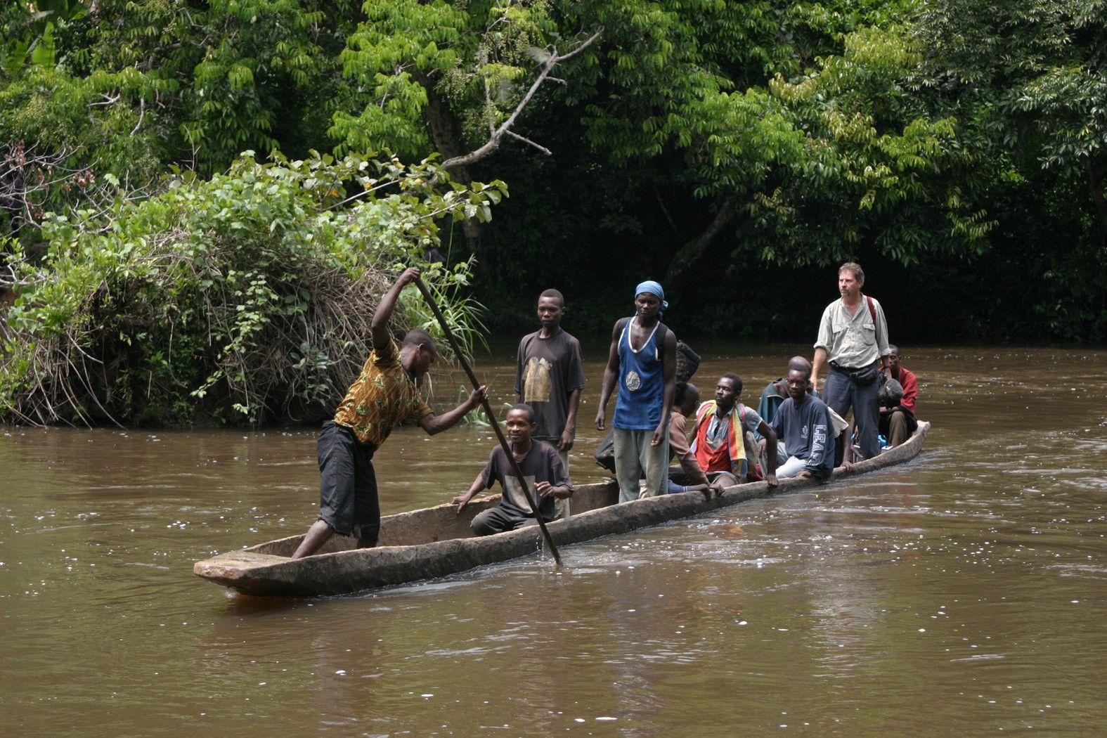Africa Map Congo River%0A CONGO RIVER