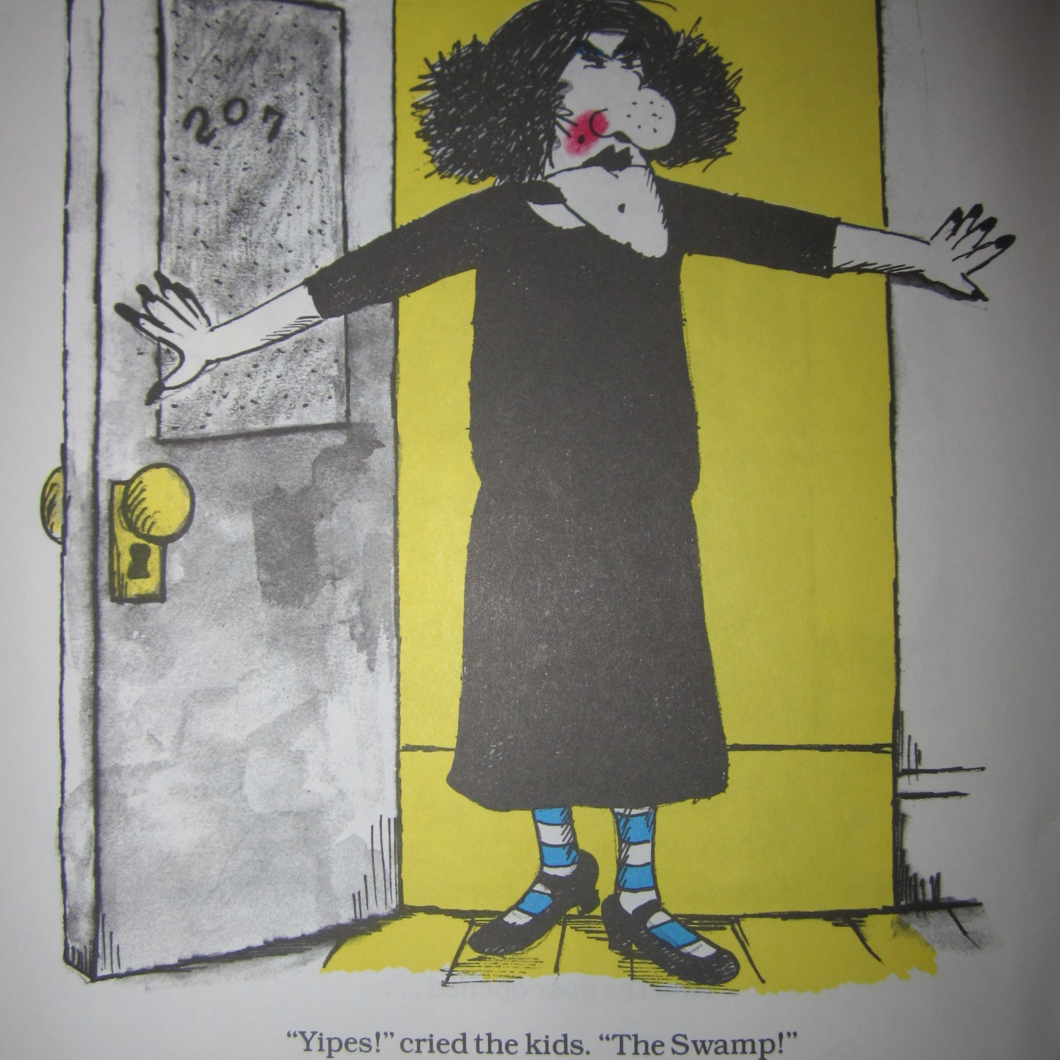 Viola Swamp from Miss Nelson book series Costume idea for school