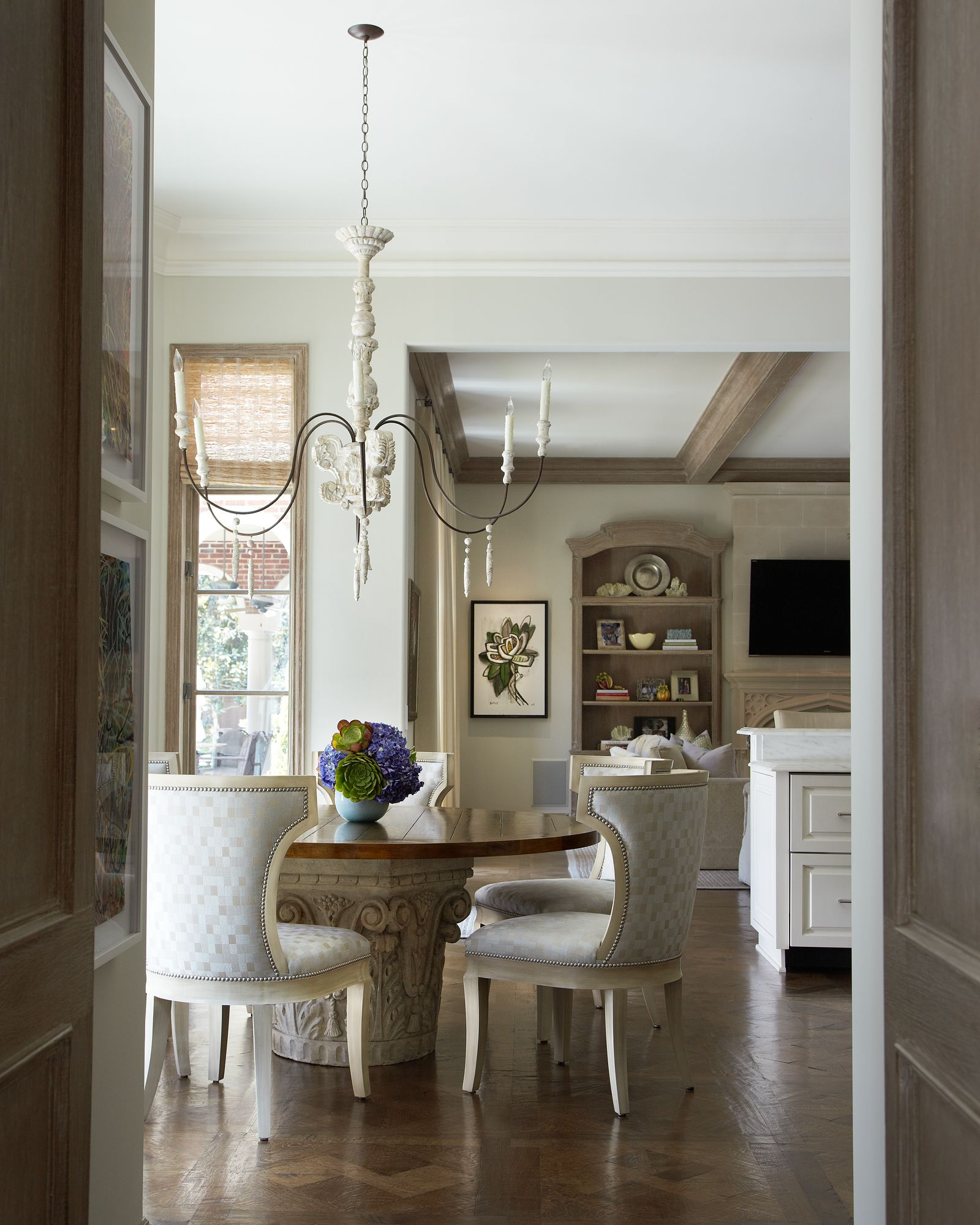 Laura Lee Clark Interior Design Modern Dining Room Interior