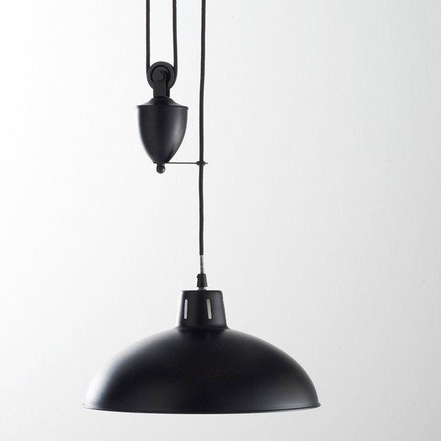 suspension monte et baisse m tal ivano la redoute interieurs prix objets d co. Black Bedroom Furniture Sets. Home Design Ideas