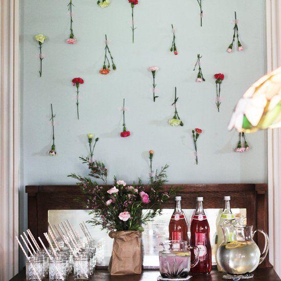 Inspiration for a floral bridal shower.