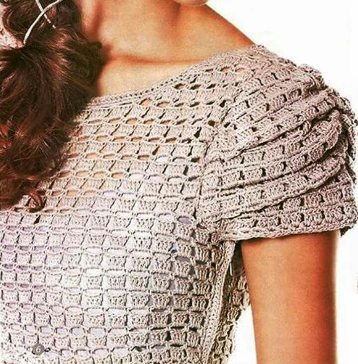 Viereck Muster | A TEJER VERANO | Pinterest | Muster und Häkeln