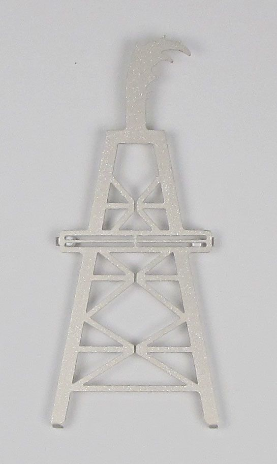 Oil Derrick Wall Décor