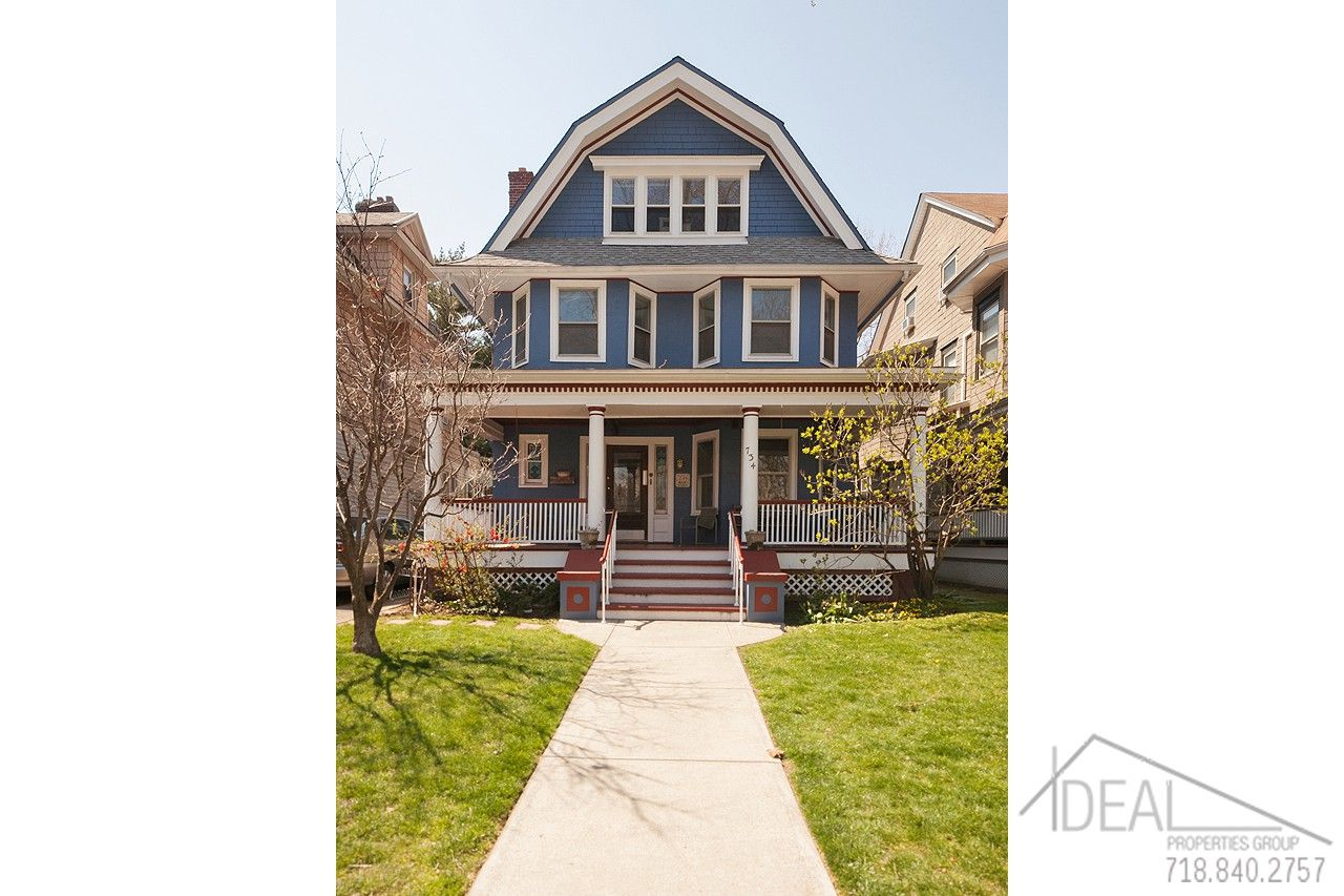 This Gorgeous Mansion Like Home On Rugby Road Is Located In Ditmas Park An Area Of Brooklyn Filled Wit Brooklyn Real Estate Nyc Real Estate Real Estate Buying