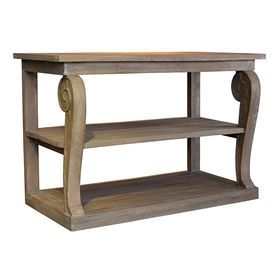 Mango Wooden Sofa Accent Table