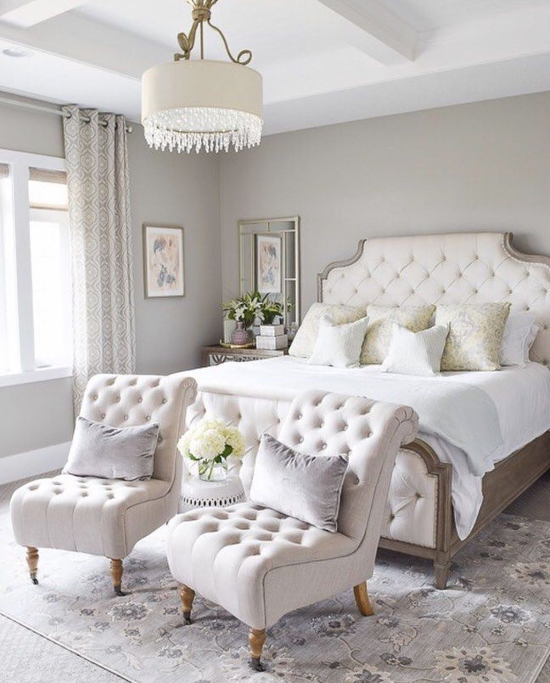 20 Feminine Master Bedrooms The Marble Home