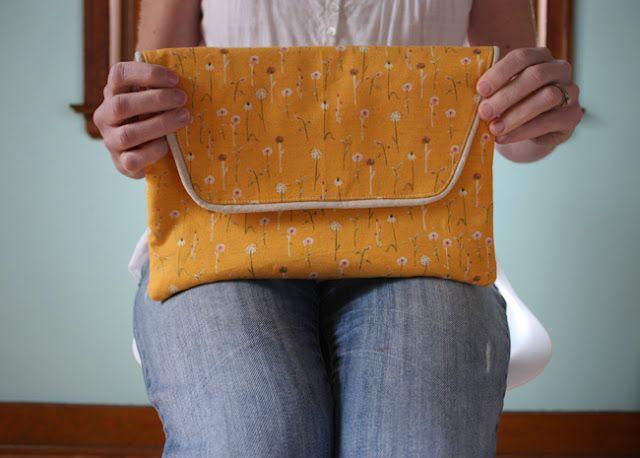 envelope clutch pattern - Noodlehead