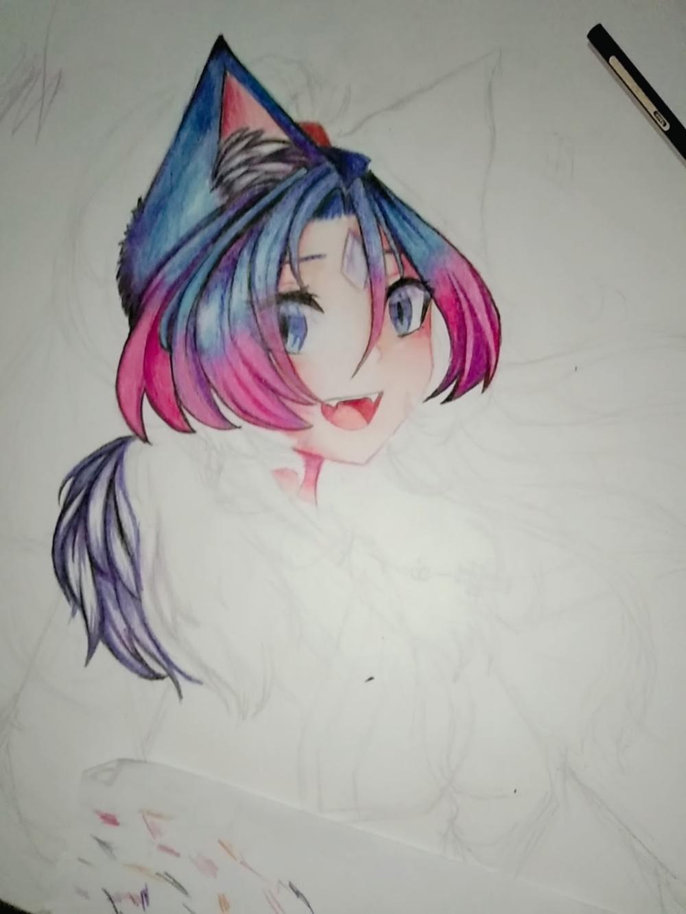 Work In Progress Glmv Youtube Chibi Girl Drawings Kawaii Anime Anime