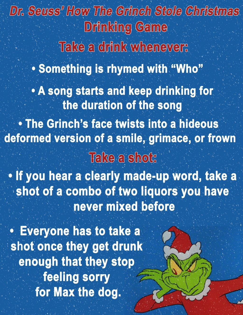 10 Christmas Movie Drinking Games You Ll Want To Play This Year Christmas Drinking Games Christmas Drinking Movie Drinking Games