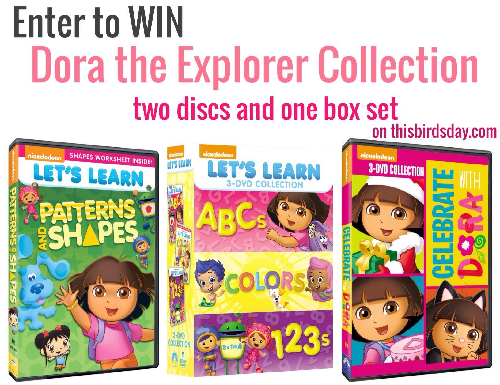 Win A Dora The Explorer Dvd Prize Pack
