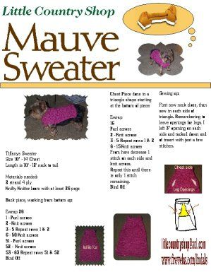 Dog Sweater Knitting Pattern For Beginners : Free Knit Dog Sweater Pattern Link   autumnblossomknits knitting Pinteres...