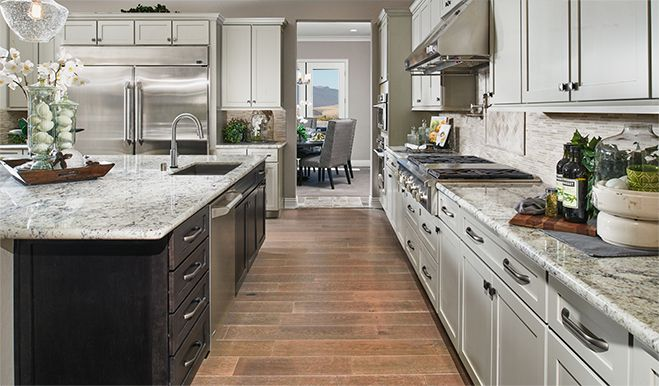 Abundant Counter Space Makes Meal Preparation Easy In This Stunning Las Vegas Nv Kitchen
