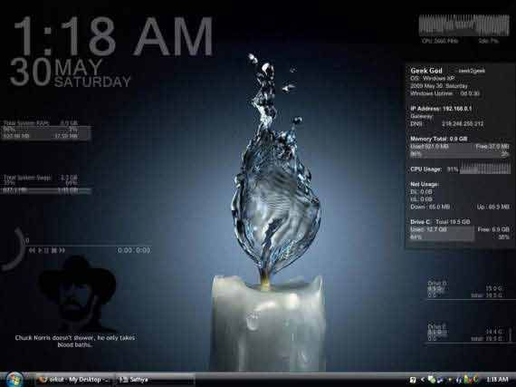 rainmeter desktop customization tool free download,windows 7