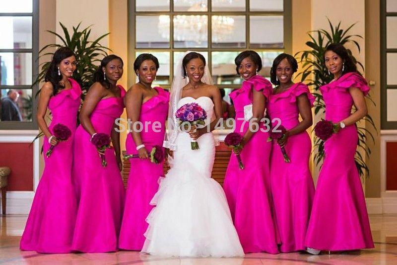 Demoiselle D Honneur Africaine Recherche Google Cocktail Bridesmaid Dresses Mermaid Bridesmaid Dresses Bridal Party Gowns