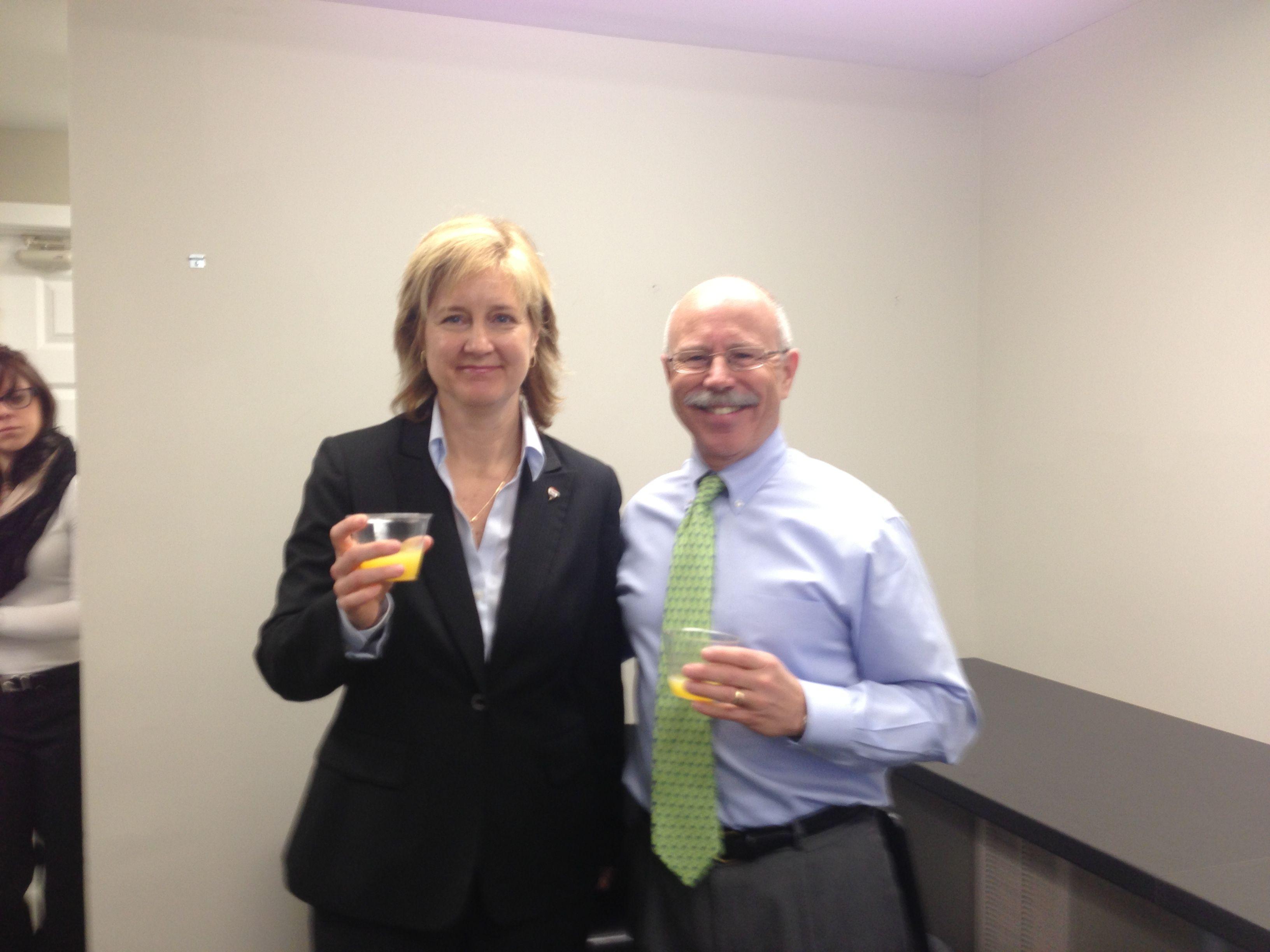 Phil Carloni And Alison Barbaro Of Re Max Alliance In