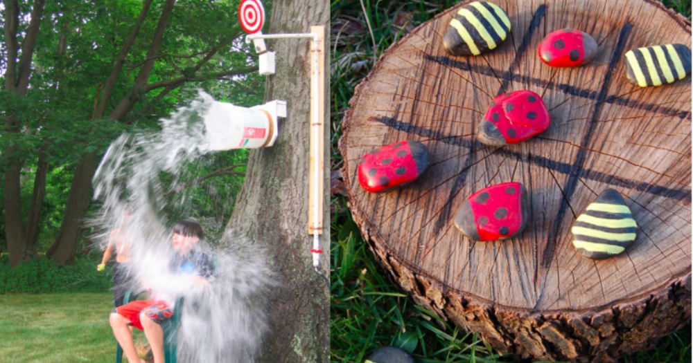 20 DIY Outdoor Games You (And Your Family!) Will Love