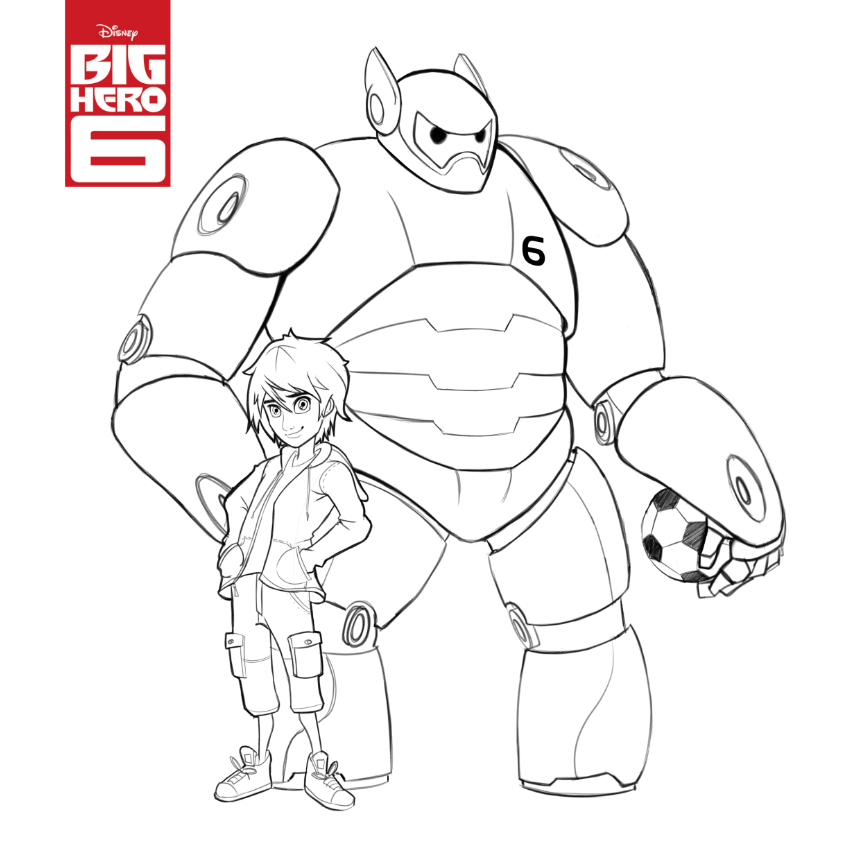 Big Hero  Sketch By Art Of Scott On Deviantart