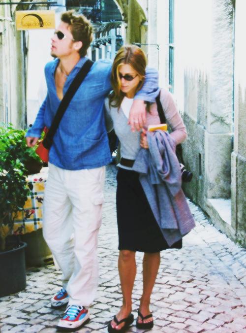 Brad Pitt & Jennifer Aniston | Jennifer & Brad | Pinterest ...