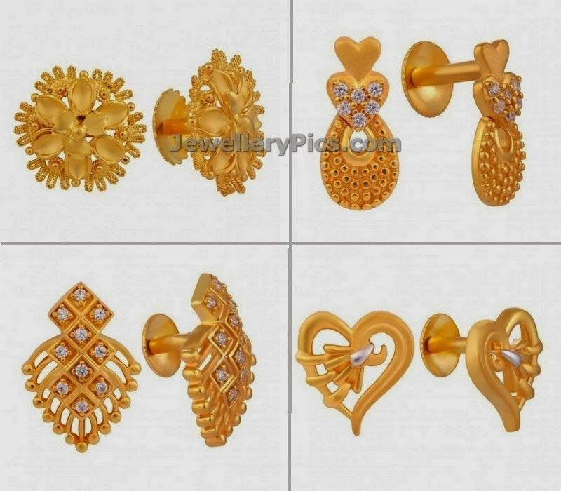 trendy daily wear earrings in light weight for office | Jewellery ...