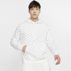 Photo of Nike Sportswear Hoodie mit Swoosh für Herren – Weiß NikeNike